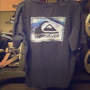 Quicksilver blue shirt